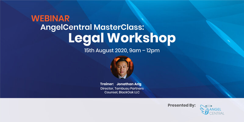 AngelCentral Masterclass Series Webinar: Legal Workshop for Angels