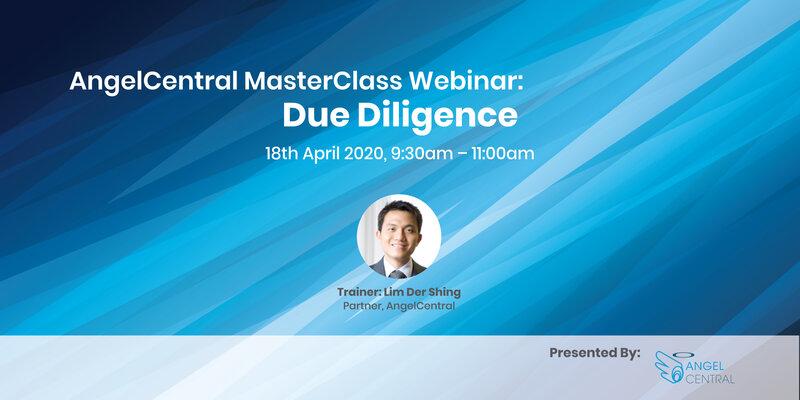 AngelCentral Masterclass Webinar: Due Diligence