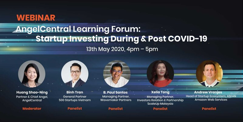 Startup Investing During & Post COVID-19