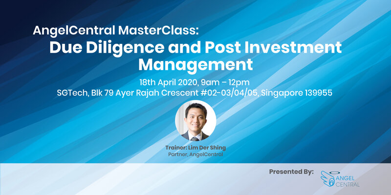AngelCentral Masterclass: Due Diligence and Post Investment Management