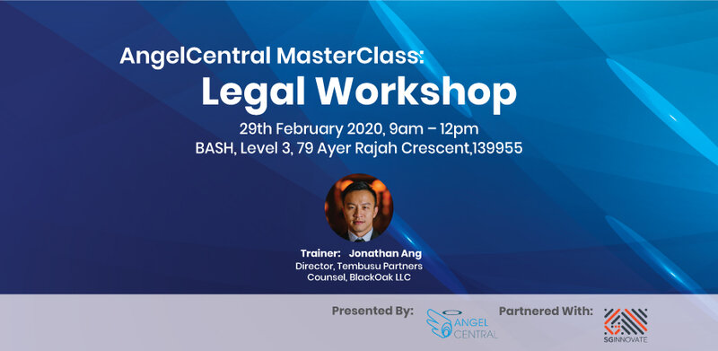 AngelCentral Masterclass Series: Legal Workshop for Angels