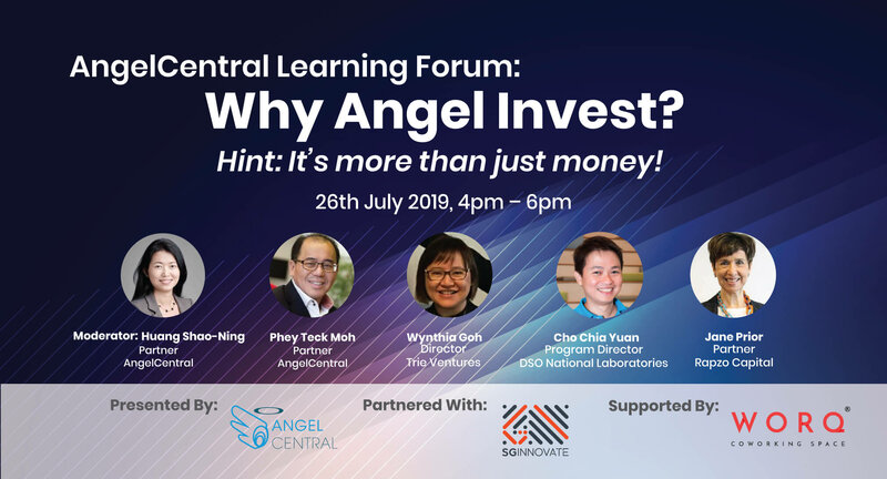 AngelCentral Learning Forum: Why Angel Invest?