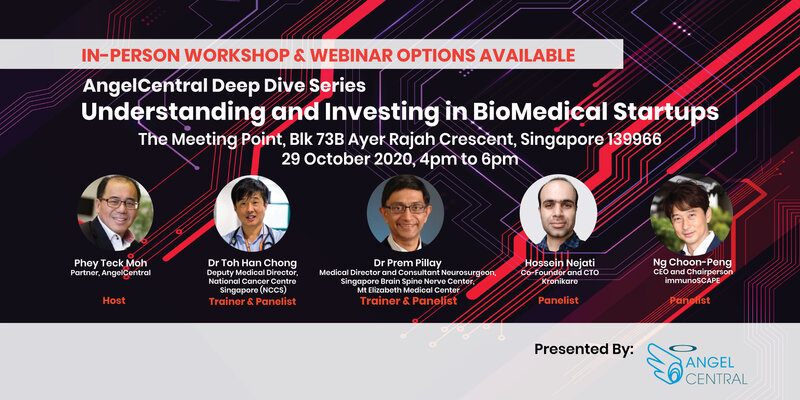 AngelCentral Deep Dive Series Webinar: Understanding and Investing in BioMedical Startups